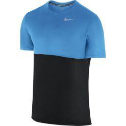 T-shirty męskie: koszulka do biegania męska NIKE RACER SHORT SLEEVE / 644396-013 – NIKE RACER SHORTSLEEVE