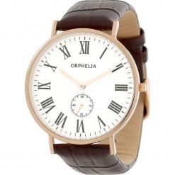 Zegarek kwarcowy w kolorze czarno-biało-różowozłotym. Brązowe, analogowe zegarki męskie Esprit Watches, ze stali. W wyprzedaży za 272,95 zł.