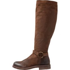 Felmini CREPA Kowbojki i obuwie motocyklowe brown. Brązowe buty zimowe damskie Felmini, z materiału. Za 839,00 zł.