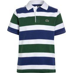 Bluzki dziewczęce bawełniane: Lacoste Sport TENNIS Koszulka polo white/ocean green