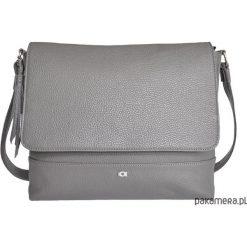 SHY 2 torba na ramię szara. Szare torebki klasyczne damskie Pakamera, z materiału. Za 300,00 zł.