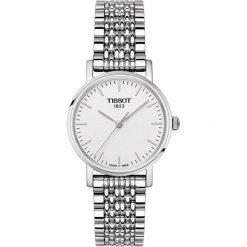 PROMOCJA ZEGAREK TISSOT Everytime Lady T109.210.11.031.00. Białe zegarki damskie TISSOT, ze stali. W wyprzedaży za 880,00 zł.
