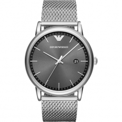 Zegarek EMPORIO ARMANI - Luigi AR11069 Silver/Silver. Szare zegarki męskie Emporio Armani. Za 979,00 zł.