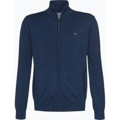 Fynch Hatton - Kardigan męski, niebieski. Niebieskie swetry rozpinane męskie Fynch-Hatton, l, z bawełny. Za 299,95 zł.