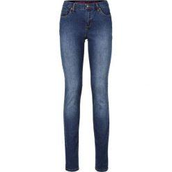 """Dżinsy """"Super skinny"""" bonprix niebieski """"stone"""". Niebieskie jeansy damskie marki bonprix, z jeansu. Za 74,99 zł."""