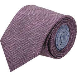Krawaty męskie: krawat winman fiolet classic 200