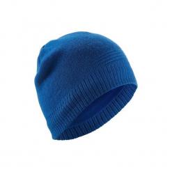 Czapka narciarska PURE. Niebieskie czapki męskie WED'ZE, z elastanu. Za 29,99 zł.