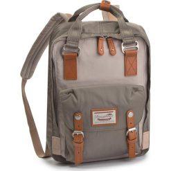 Plecak DOUGHNUT - D010-0907-F Macaroon Ivory x Light Grey. Szare plecaki damskie Doughnut, z materiału. Za 349,00 zł.