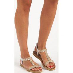 Sandały damskie: Stylowe sandały na gumkę BELLO STAR szare