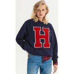 Bluza w stylu college - Granatowy. Niebieskie bluzy damskie marki Dreimaster, xs, z dzianiny. Za 49,99 zł.