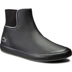 Botki LACOSTE - Lancelle Chelsea 316 1 7-32SPW0114024 Blk. Czarne buty zimowe damskie Lacoste, z materiału. W wyprzedaży za 349,00 zł.