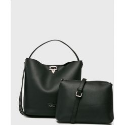 Nobo - Torebka. Szare torebki klasyczne damskie marki Nobo, w paski, z materiału, duże. Za 229,90 zł.