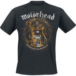 Motörhead Bass Guitar T-Shirt czarny. Czarne t-shirty męskie z nadrukiem Motörhead, s, z kapturem. Za 89,90 zł.