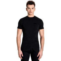 T-shirt ANGELO. Czarne t-shirty męskie z nadrukiem Giacomo Conti, m, z bawełny. Za 79,00 zł.