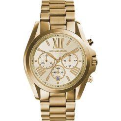 Michael Kors BRADSHAW Zegarek chronograficzny goldcoloured. Żółte zegarki damskie Michael Kors. Za 1049,00 zł.