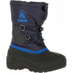 Kamik Buty Zimowe southpole4, Navy, 33,5. Niebieskie buciki niemowlęce chłopięce marki Kamik, na zimę. W wyprzedaży za 169,00 zł.