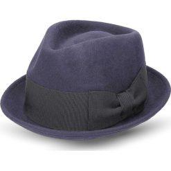 Kapelusze męskie: kapelusz polier granatowy