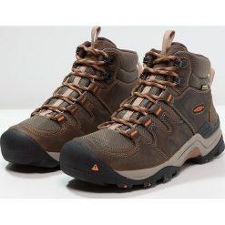 Keen GYPSUM II WP Buty trekkingowe cornstock/gold coral. Brązowe buty trekkingowe damskie marki Keen, z materiału. W wyprzedaży za 463,20 zł.