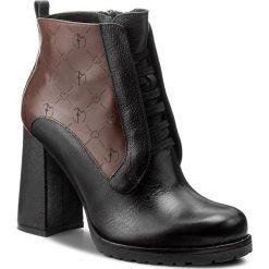 Botki EVA MINGE - Cenobia 2H 17SF1372280EF 171. Brązowe buty zimowe damskie marki Eva Minge, ze skóry. W wyprzedaży za 289,00 zł.