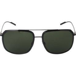 Dolce&Gabbana Okulary przeciwsłoneczne black. Czarne okulary przeciwsłoneczne damskie Dolce&Gabbana. Za 919,00 zł.