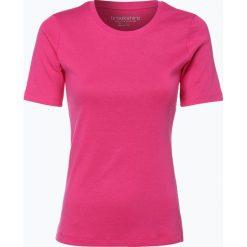 Brookshire - T-shirt damski, różowy. Czarne t-shirty damskie marki brookshire, m, w paski, z dżerseju. Za 49,95 zł.