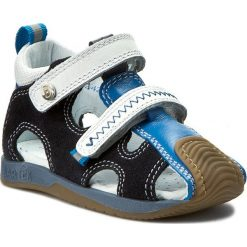 Sandały BARTEK - 81772-8/516 Ocean. Niebieskie sandały męskie skórzane Bartek. W wyprzedaży za 169,00 zł.