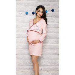 Koszula damska 113 Asia 002 brzoskwiniowa r. M. Pomarańczowe bluzki ciążowe Taro, m, moda ciążowa. Za 62,50 zł.