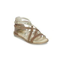 Sandały Dziecko  Citrouille et Compagnie  GAFOTA. Brązowe sandały dziewczęce marki Citrouille et Compagnie. Za 143,20 zł.