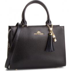 Torebka WITTCHEN - 87-4E-402-1 Czarny. Czarne torebki klasyczne damskie Wittchen, ze skóry. W wyprzedaży za 479,00 zł.