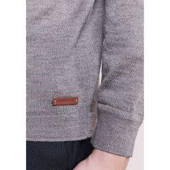 Baldessarini KAI Sweter sand meliert. Brązowe kardigany męskie marki Baldessarini, m, z materiału. W wyprzedaży za 583,20 zł.