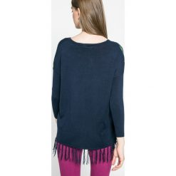 Desigual - Sweter. Szare swetry klasyczne damskie marki Desigual, l, z tkaniny, casualowe, z długim rękawem. W wyprzedaży za 199,90 zł.