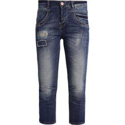 Mos Mosh Jeansy Slim Fit blue denim. Niebieskie rurki damskie Mos Mosh. W wyprzedaży za 299,50 zł.