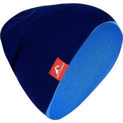 """Czapki męskie: Dwustronna czapka """"Westfjord"""" w kolorze niebiesko-granatowym"""