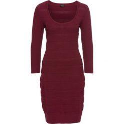 Sukienki: Sukienka dzianinowa bonprix czerwony klonowy