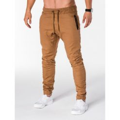 Spodnie męskie: SPODNIE MĘSKIE JOGGERY P713 – RUDE