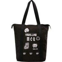 McQ Alexander McQueen MAGAZINE TOTE Torba na zakupy black. Czarne shopper bag damskie McQ Alexander McQueen. Za 819,00 zł.