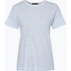 Marc O'Polo - T-shirt damski, niebieski. Niebieskie t-shirty damskie Marc O'Polo, xs, w prążki, polo. Za 99,95 zł.