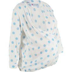 Bluzka ciążowa i do karmienia piersią bonprix biały w kropki. Białe bluzki ciążowe marki bonprix, w kropki, biznesowe, z kopertowym dekoltem, moda ciążowa. Za 89,99 zł.