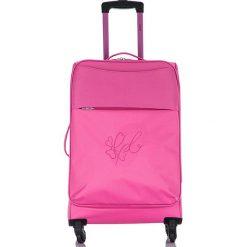 """Walizki: Walizka """"Anais"""" w kolorze różowym – 48 x 69 cm"""