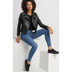 Jeansy premium power stretch. Żółte jeansy damskie skinny marki Orsay, s, z bawełny, z golfem. Za 149,99 zł.