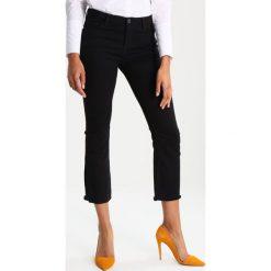 Opus MAJENKA Jeansy Slim Fit black. Czarne jeansy damskie Opus, z bawełny. W wyprzedaży za 164,50 zł.