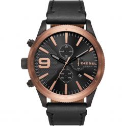 Zegarek DIESEL - Rasp Chrono 50Mm DZ4445 Black/2-Tone. Czarne zegarki męskie Diesel. Za 929,00 zł.