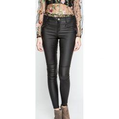 Answear - Jeansy Ur Your Only Limit. Czarne jeansy damskie rurki ANSWEAR. W wyprzedaży za 129,90 zł.