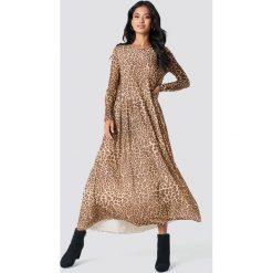 Samsoe & Samsoe Sukienka Milena - Brown,Multicolor. Zielone długie sukienki marki Emilie Briting x NA-KD, l. Za 607,95 zł.