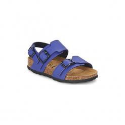 Sandały Dziecko  Betula Original Betula Fussbett  GLOBAL 2. Niebieskie sandały dziewczęce Betula Original Betula Fussbett. Za 175,20 zł.