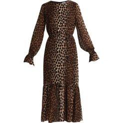 Długie sukienki: JUST FEMALE ZOMI DRESS Długa sukienka brown/beige