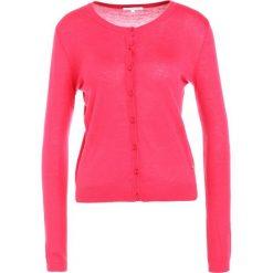 Patrizia Pepe MAGLIA Kardigan pink buble. Czerwone kardigany damskie marki Patrizia Pepe, z jedwabiu. W wyprzedaży za 359,60 zł.