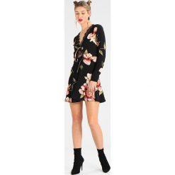 Sukienki: Missguided LONG SLEEVE DRESS Sukienka letnia black