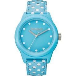 Zegarki damskie: Zegarek kwarcowy w kolorze błękitno-białym