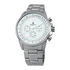 """Zegarki męskie: Zegarek """"Washington"""" w kolorze srebrno-białym"""
